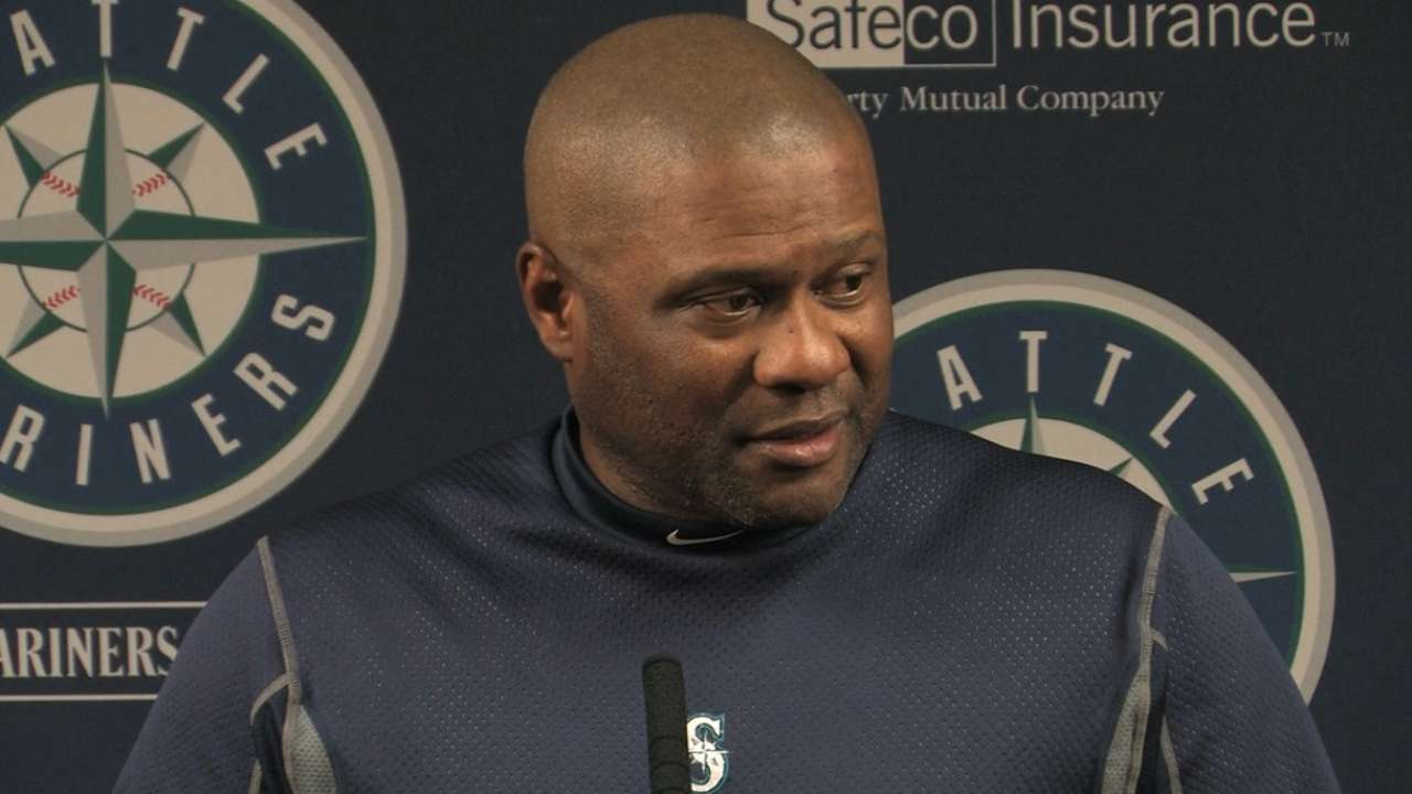 McClendon concerned about struggles of Mariners' rotation