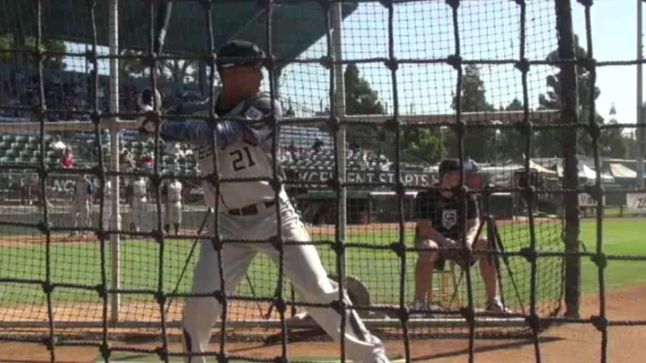 2015 Draft: Garrett Whitley, OF