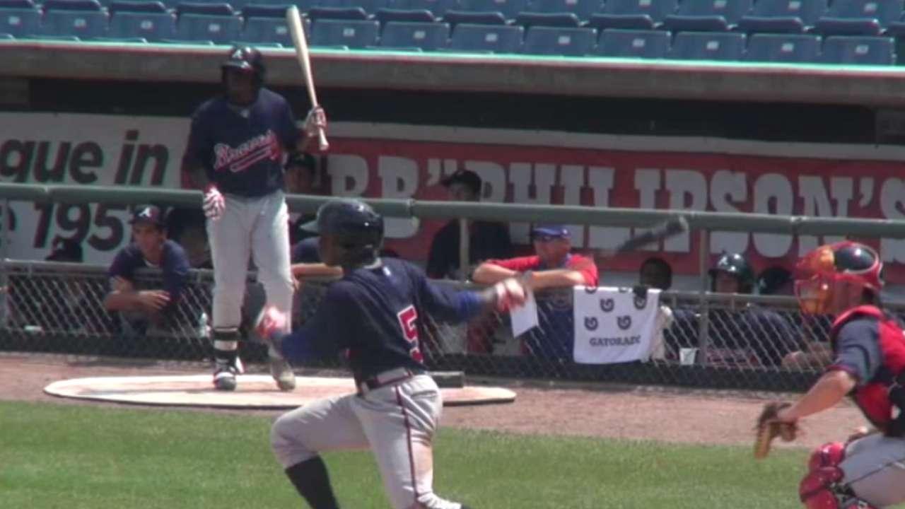 2015 Draft: Alonzo Jones, SS