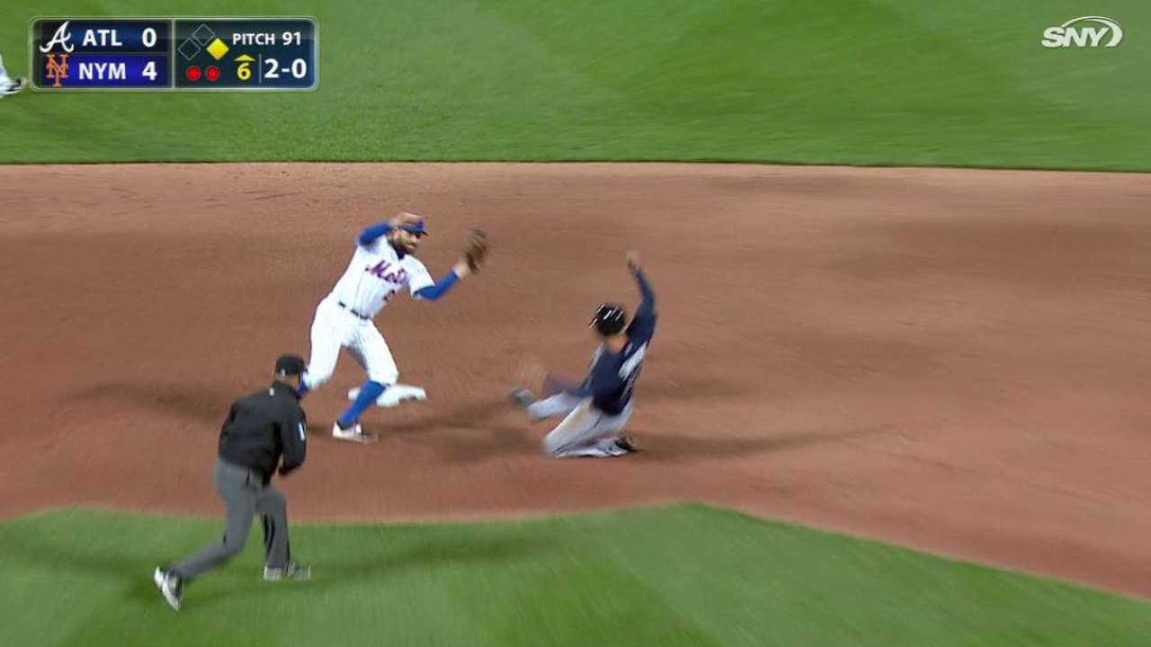 Plawecki throws out Simmons