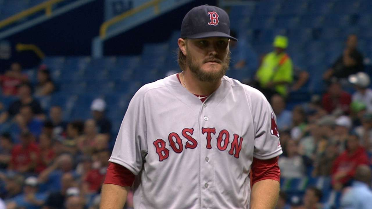 Miley outduels Archer for first win as Red Sox edge Rays