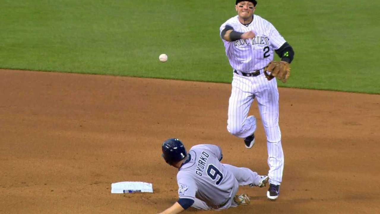 Amid rough patch, Rockies keeping level heads