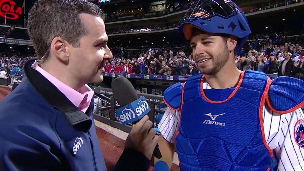 Plawecki on MLB debut, Mets' win