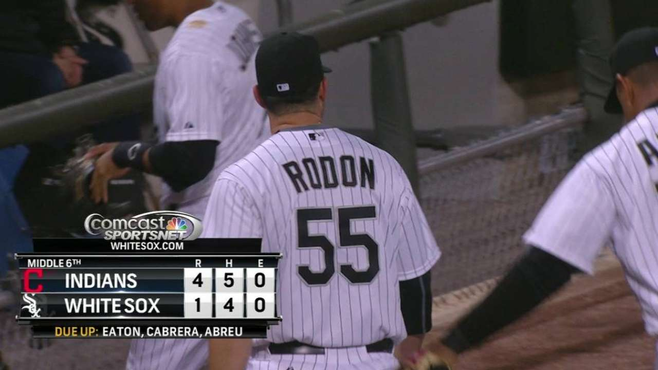 Rodon tallies first ML out