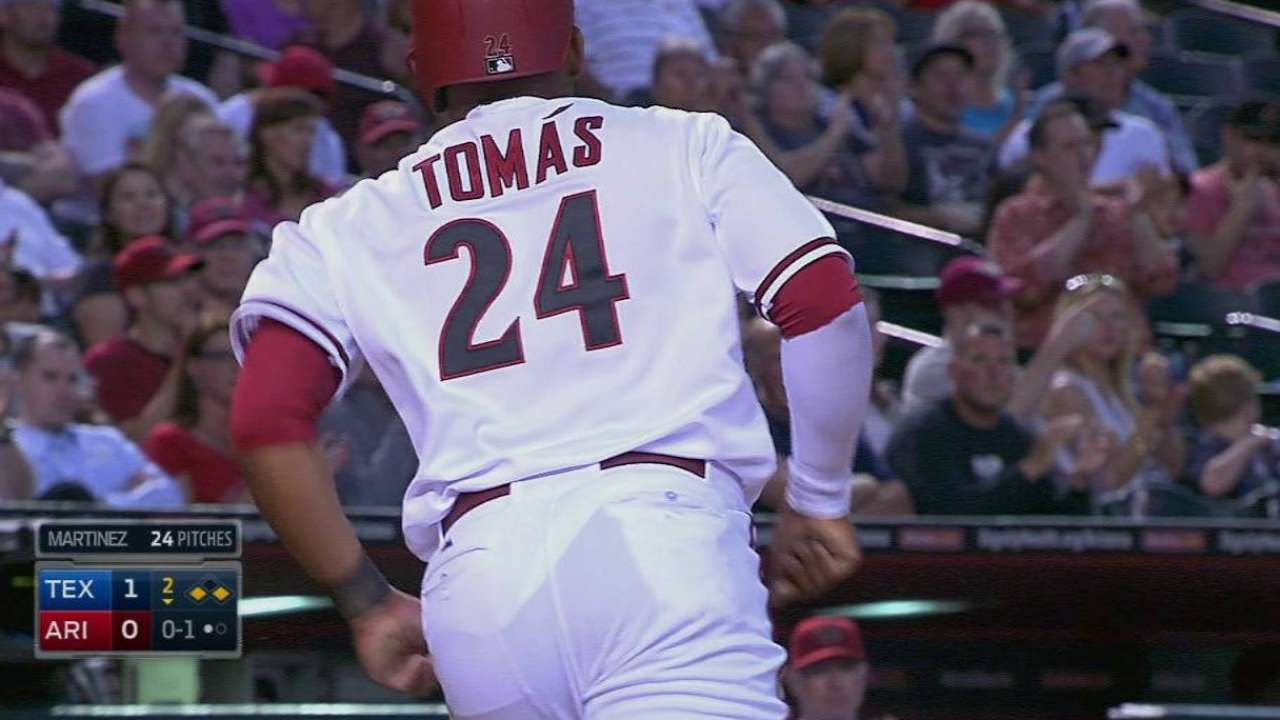 D-backs being patient with Ahmed's offense