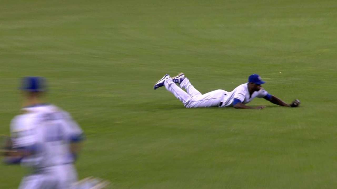 Cain's diving catch