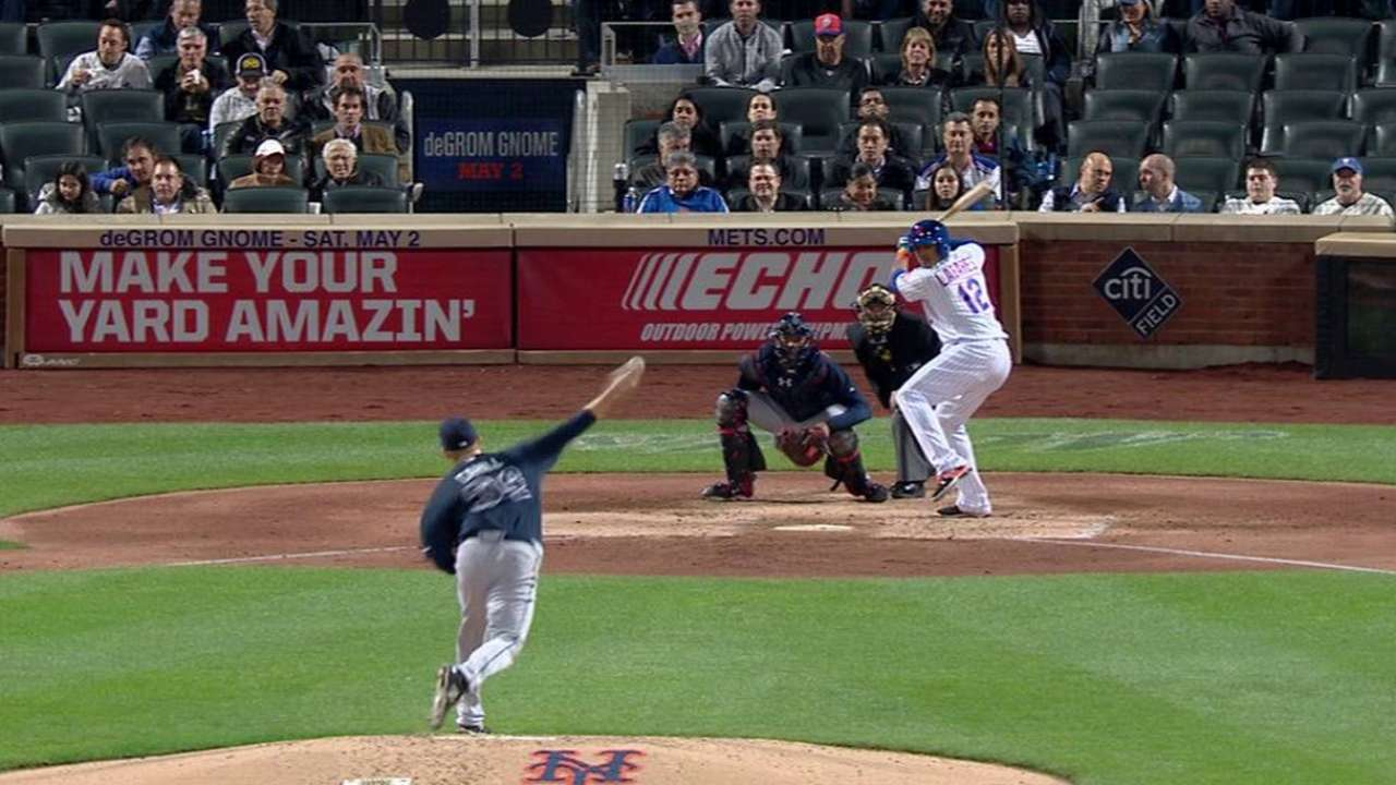 Cahill strikes out Lagares