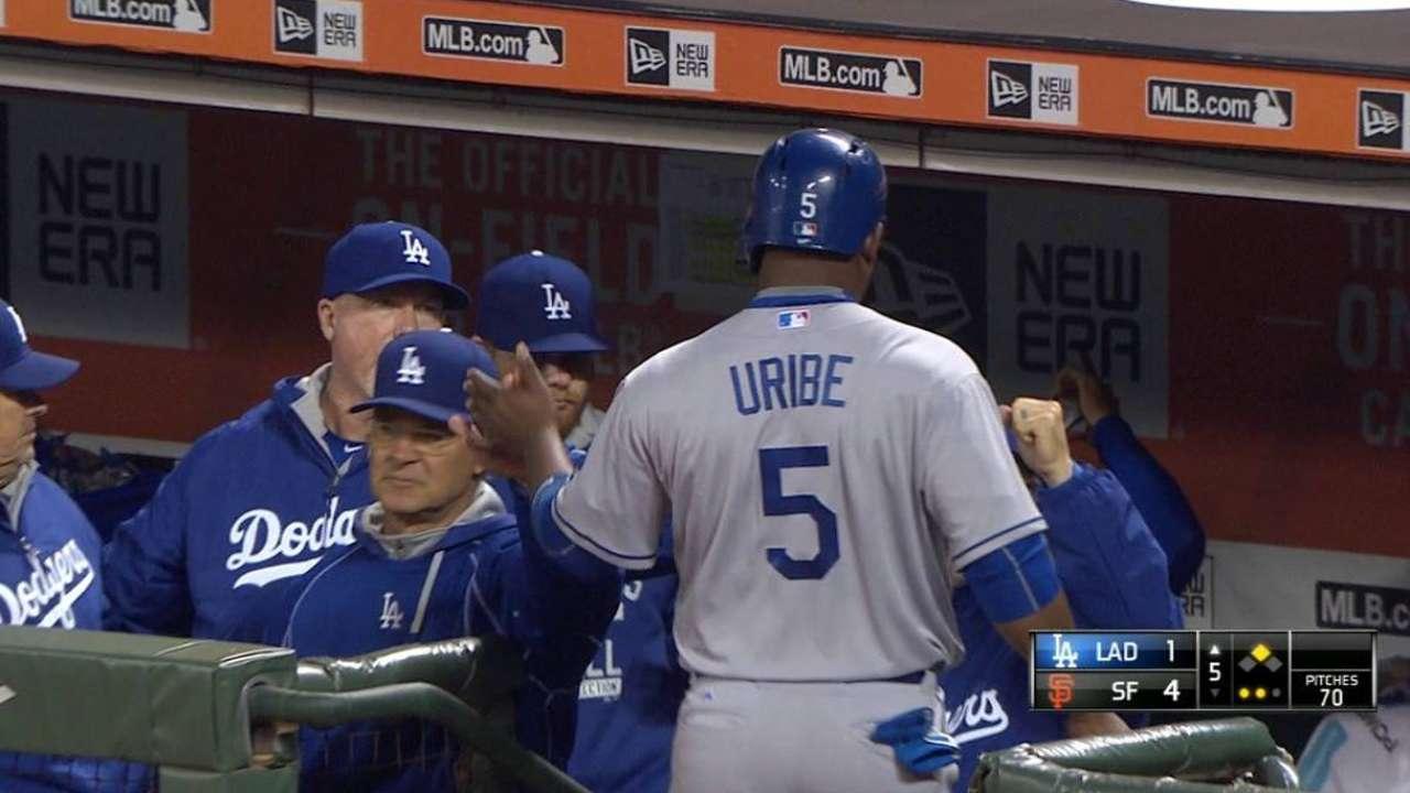 Ofensiva de Dodgers fue dominada por Lincecum, S.F.