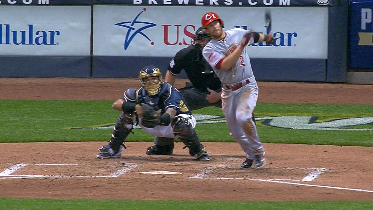 Cozart's two-homer night