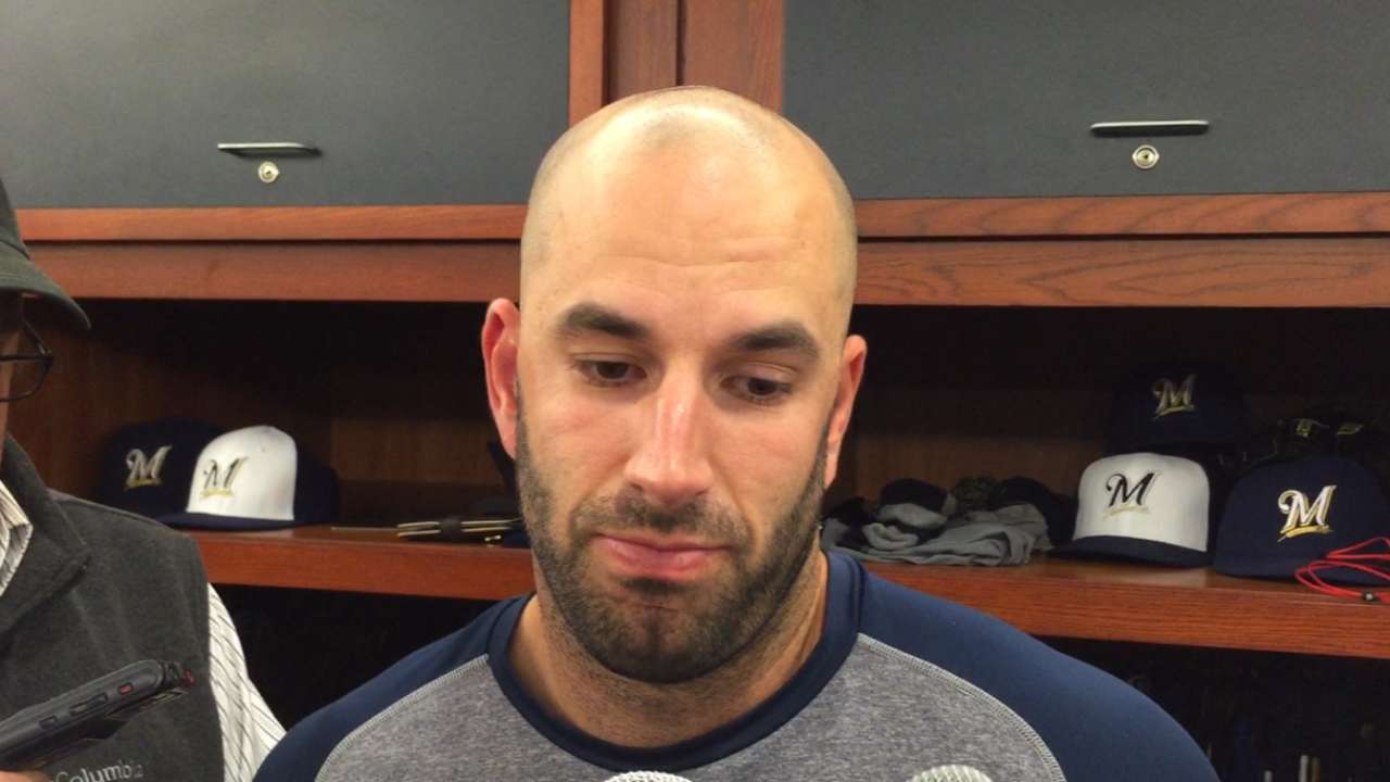 Fiers at loss for words after two grand slams