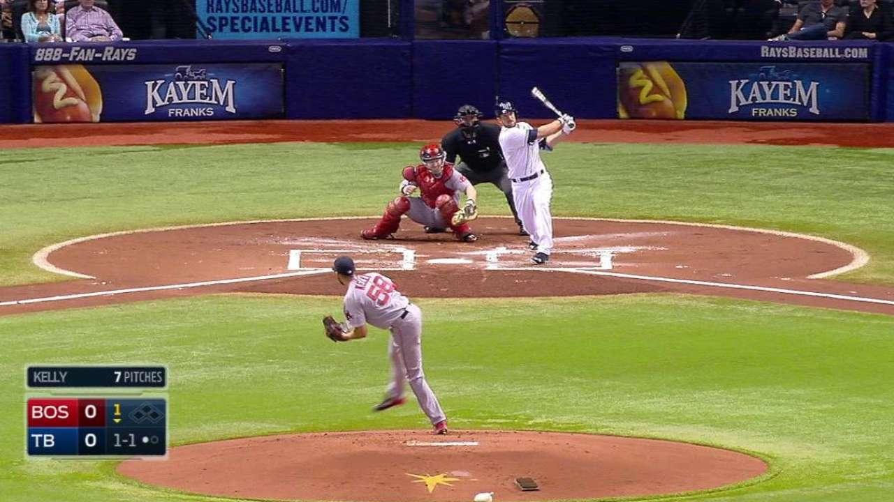 Souza's solo home run