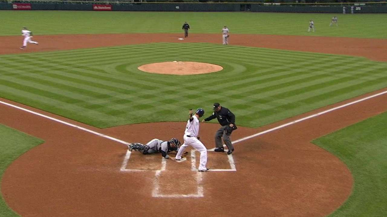 Slowing the game down, Arenado cuts down on strikeouts