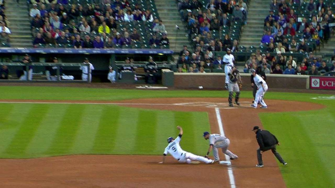 Norris throws out LeMahieu