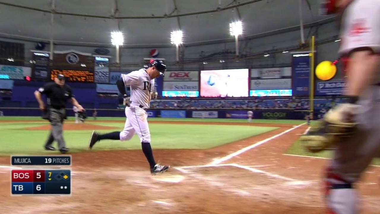 Rays overcome early deficit to beat Red Sox