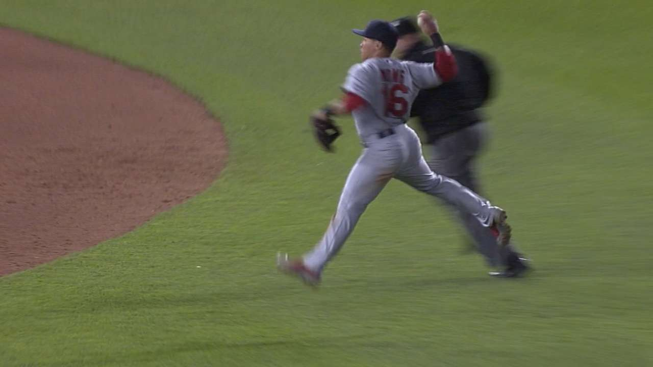Wong steals the show with HR, dazzling throws