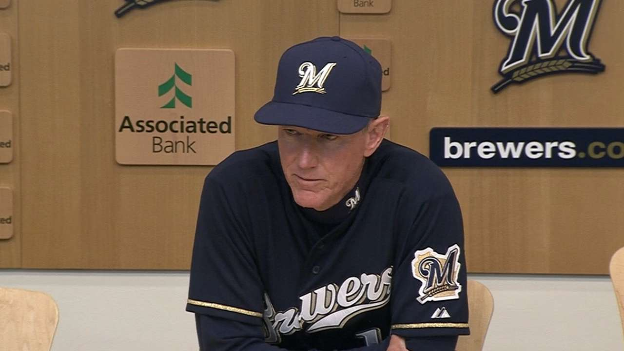 Roenicke on tough home loss