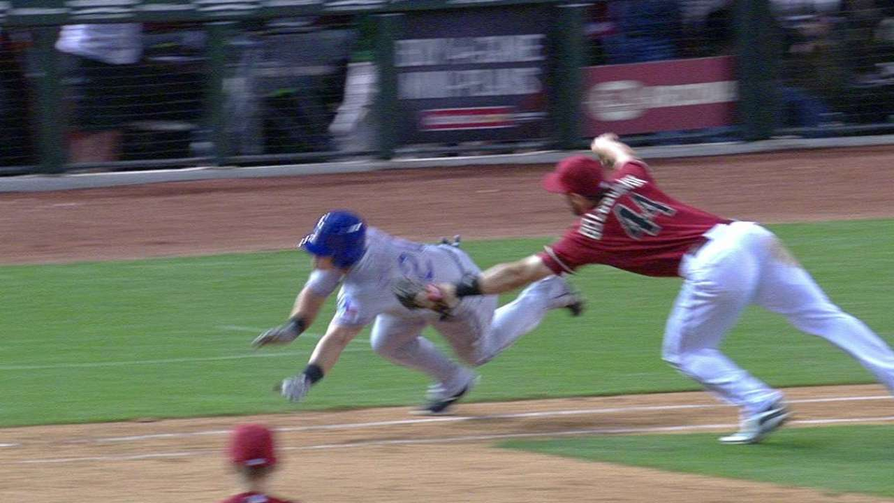 Rangers lose challenge in 9th