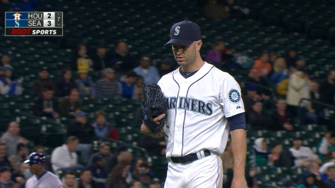 Happ gives struggling 'pen rest in 'huge outing'