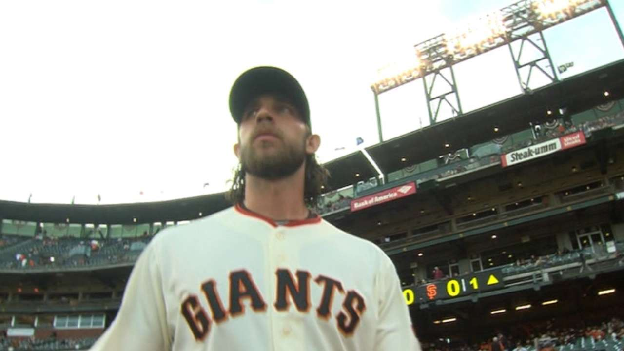 Kershaw, MadBum labor, but remain on point