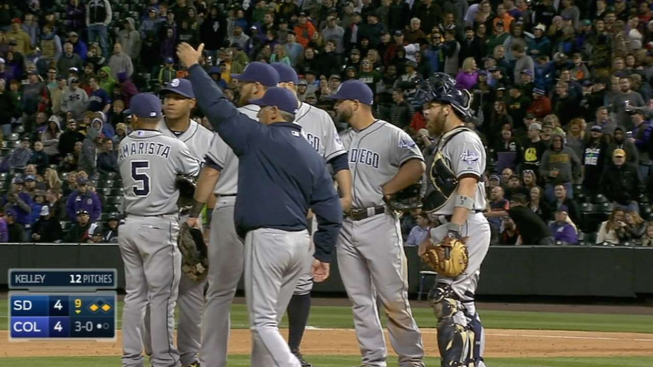Reliable relief corps endures off-night at Coors