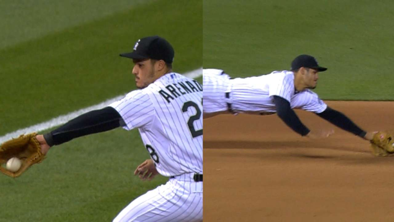 Arenado's dazzling 'D' once again on display