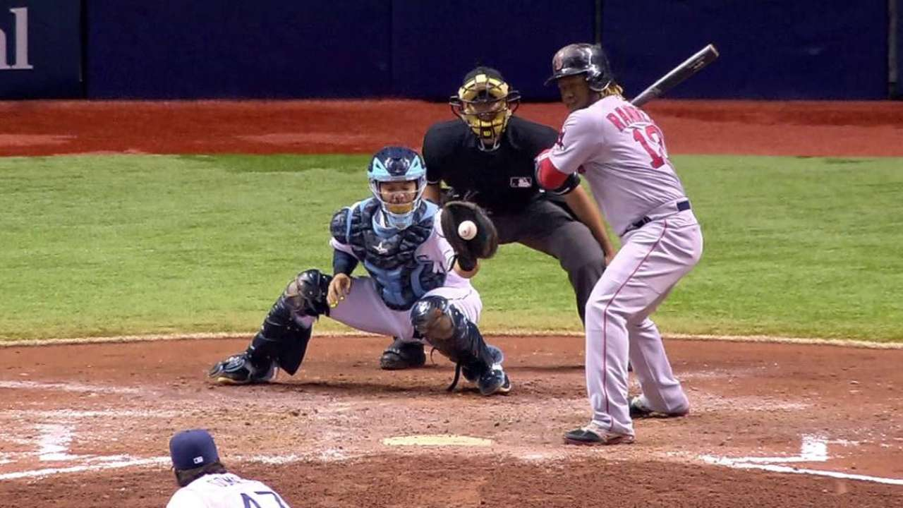 Rays bullpen stands out in victory over Red Sox