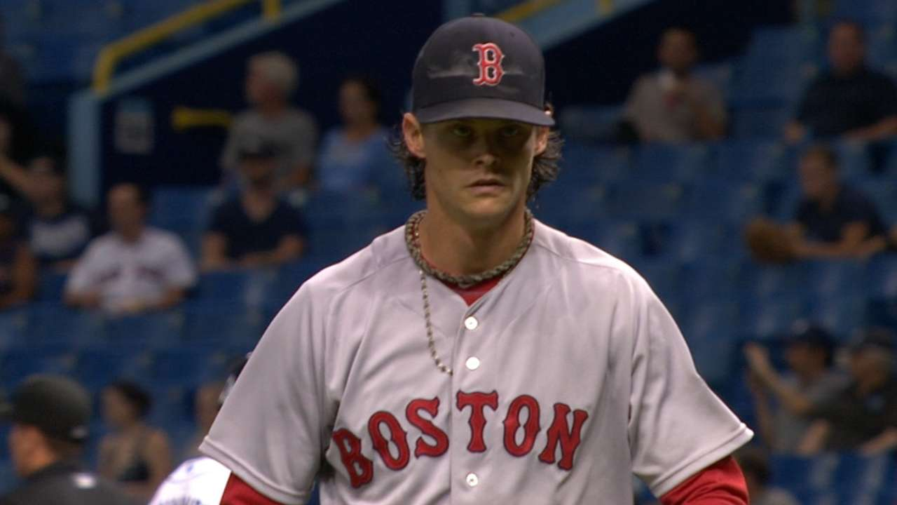 Buchholz, Farrell pleased with 10-K outing