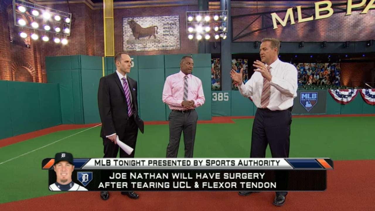 MLB Tonight: Joe Nathan's injury