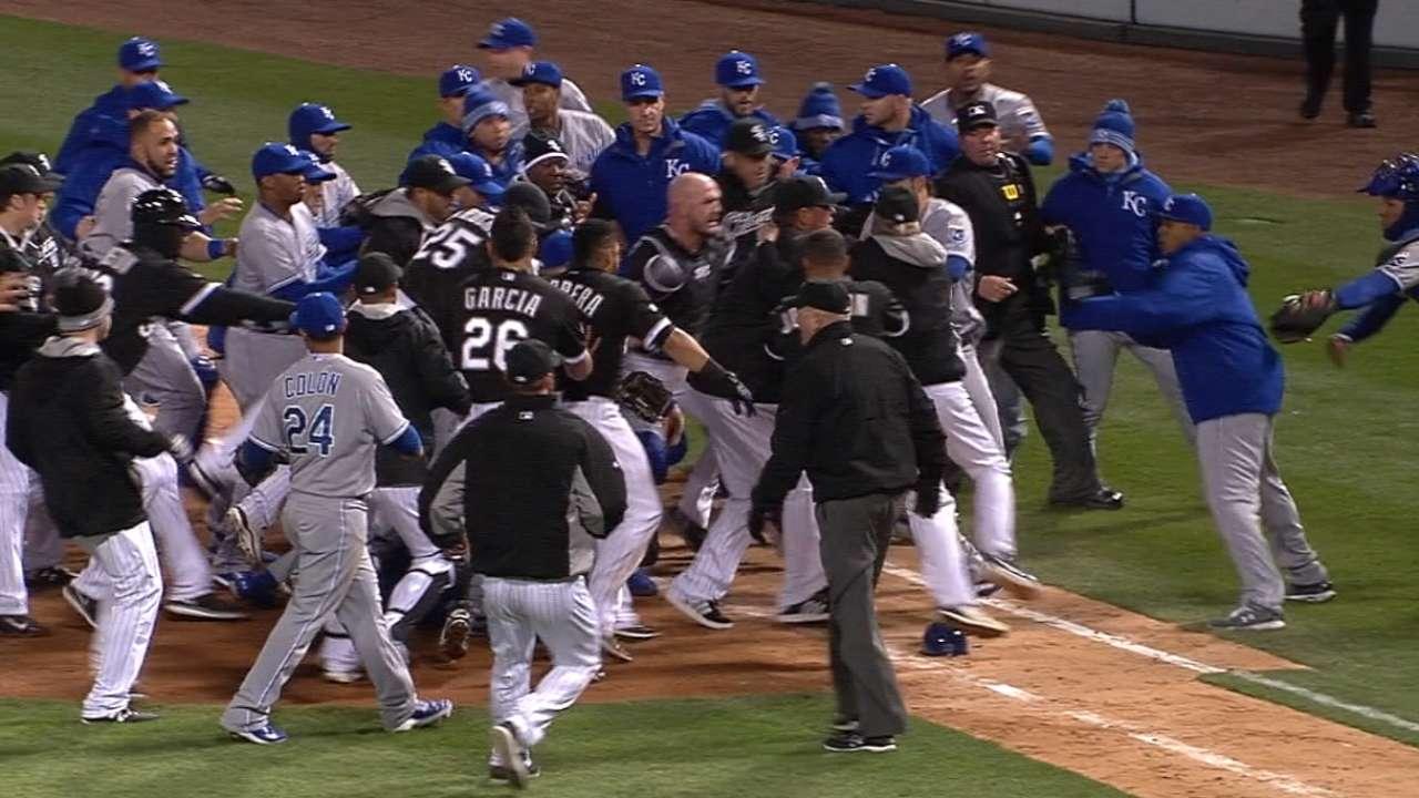 White Sox on altercation