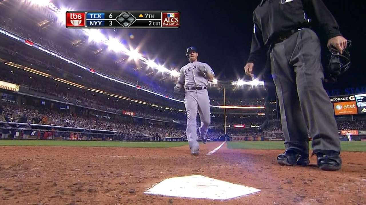 Hamilton's first homer