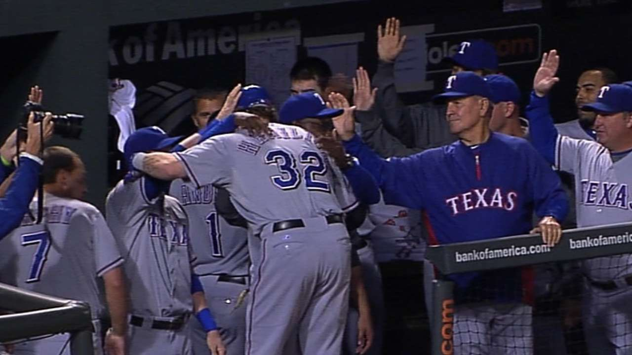 Hamilton had quite the highlight reel with Rangers