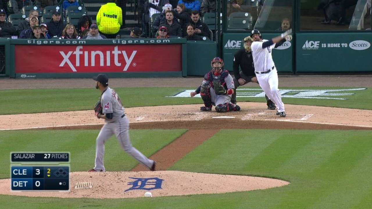 Castellanos' solo home run