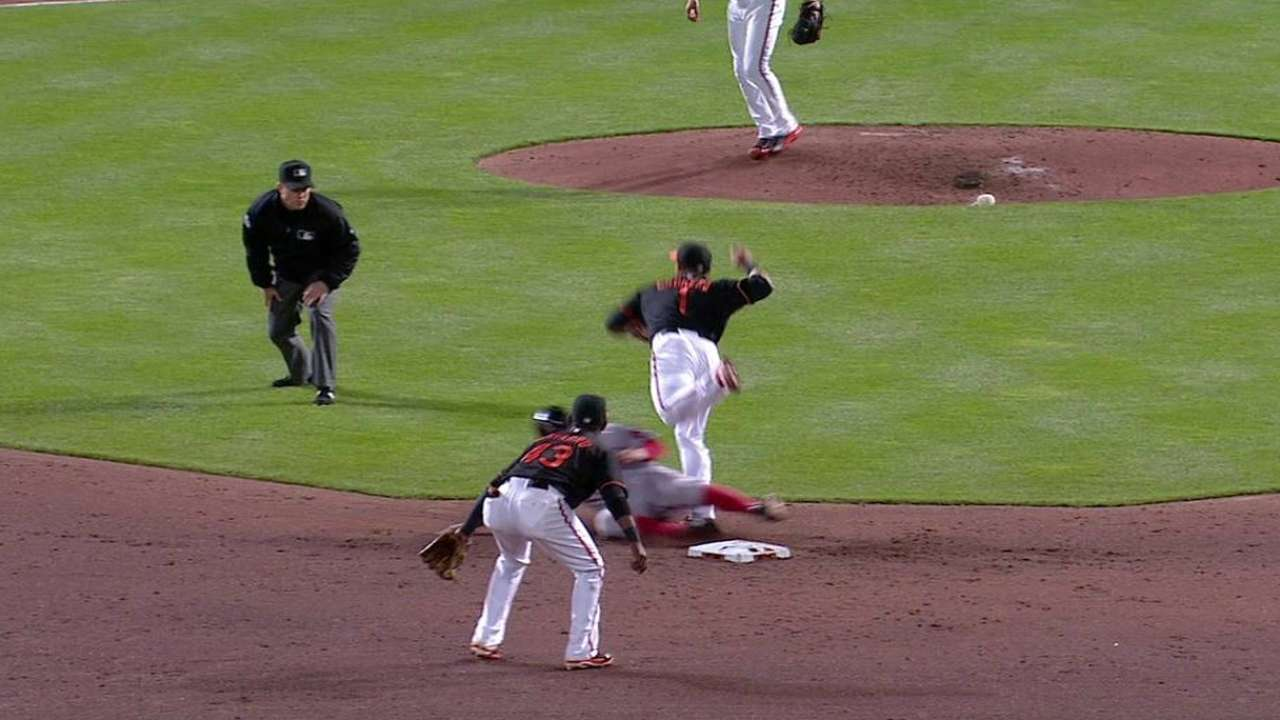 Gonzalez's gritty effort not enough for Orioles