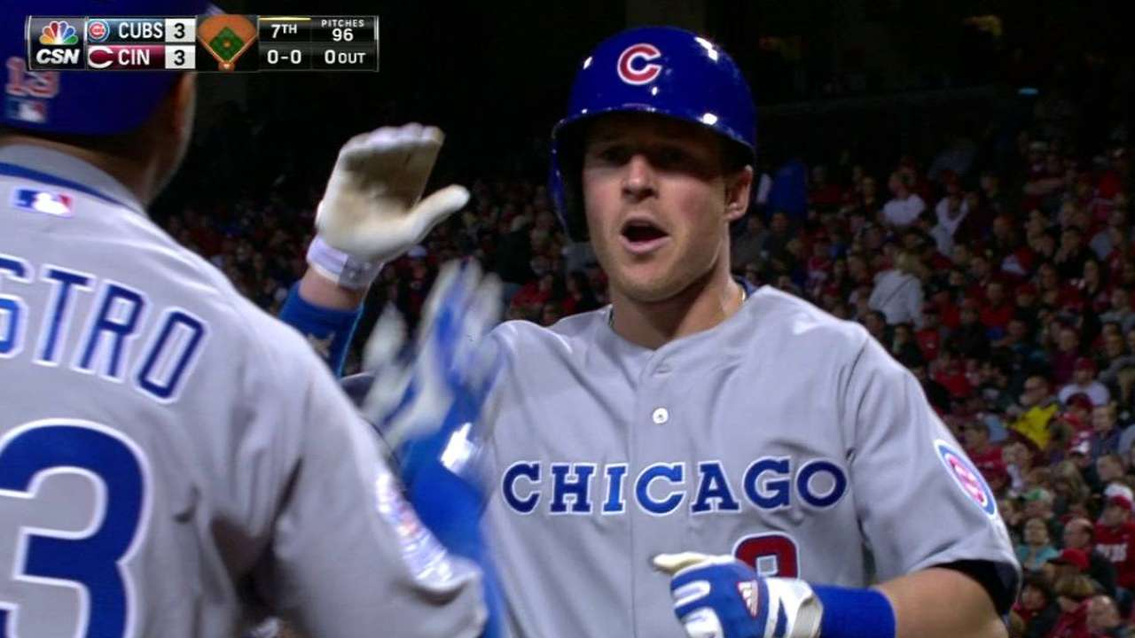 Cubs rally to defeat Reds in extras