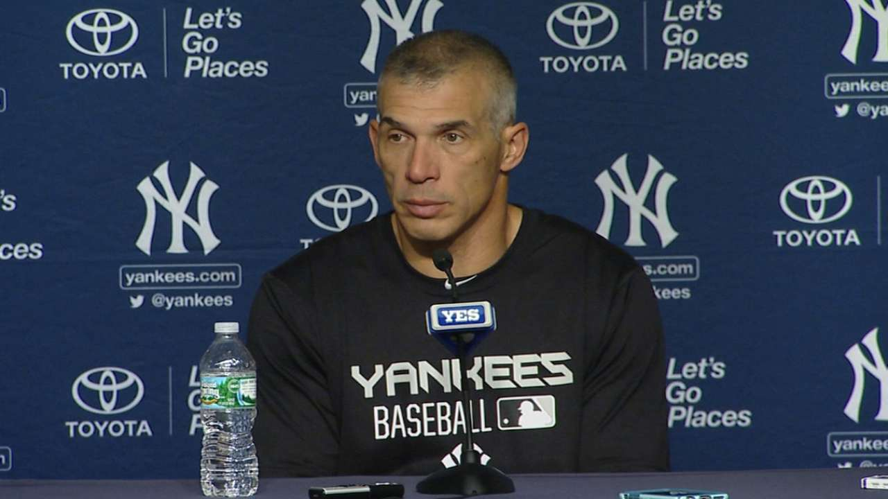 Girardi on Pineda's start
