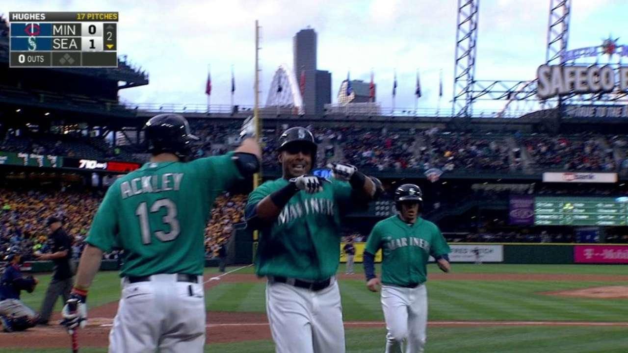 Felix finishes off Twins in shutout; Cruz crushes 9th homer