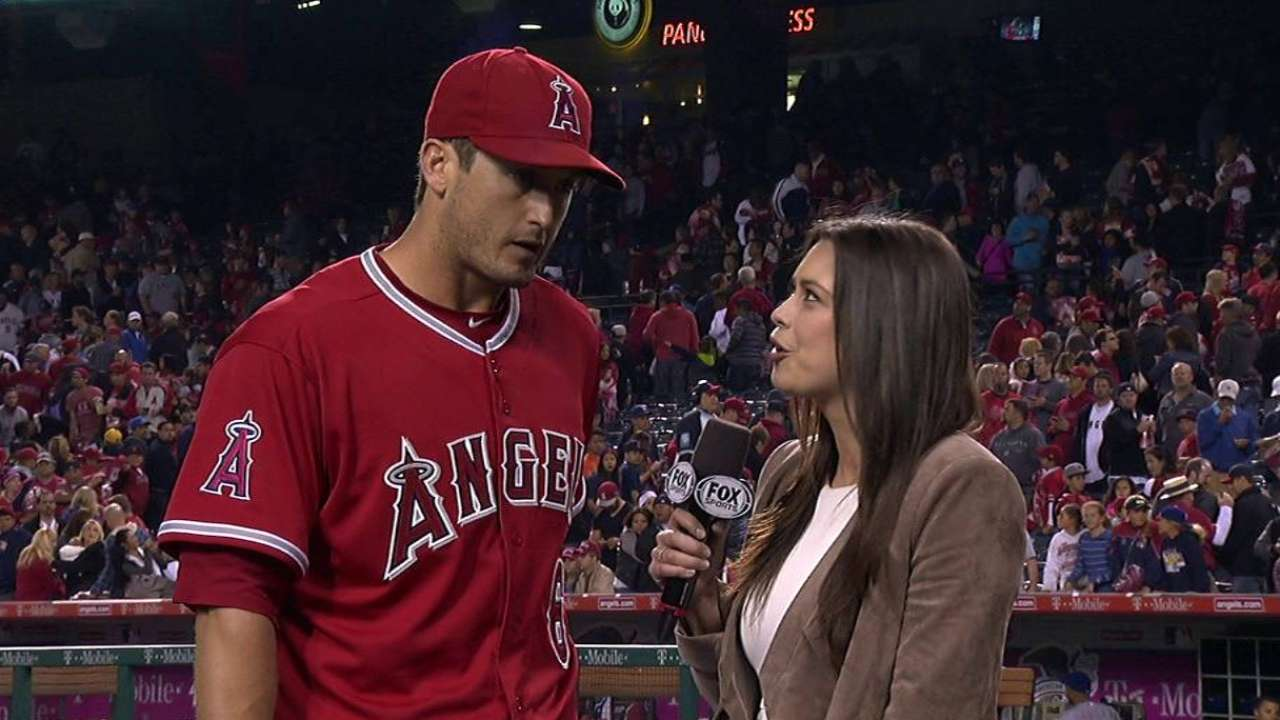 Freese recaps win, gets doused
