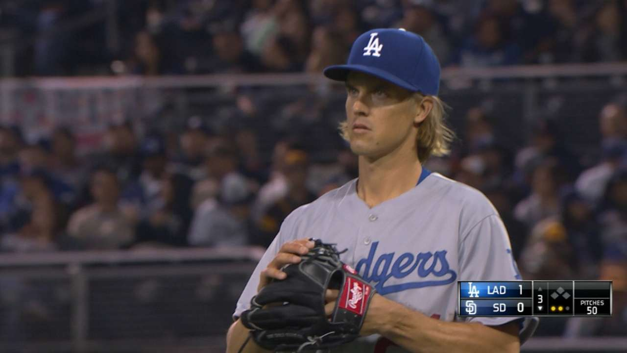 NL West no match for Greinke, Kershaw