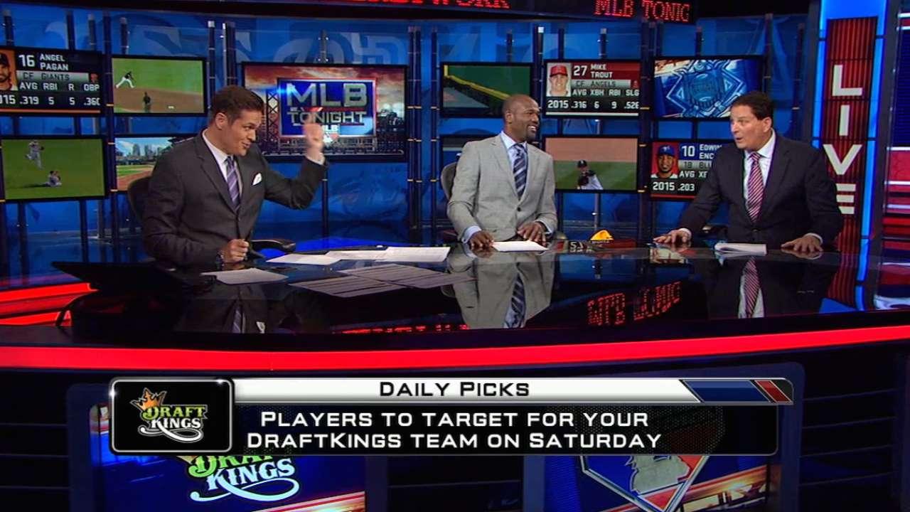 DraftKings picks: Heyward, Harvey