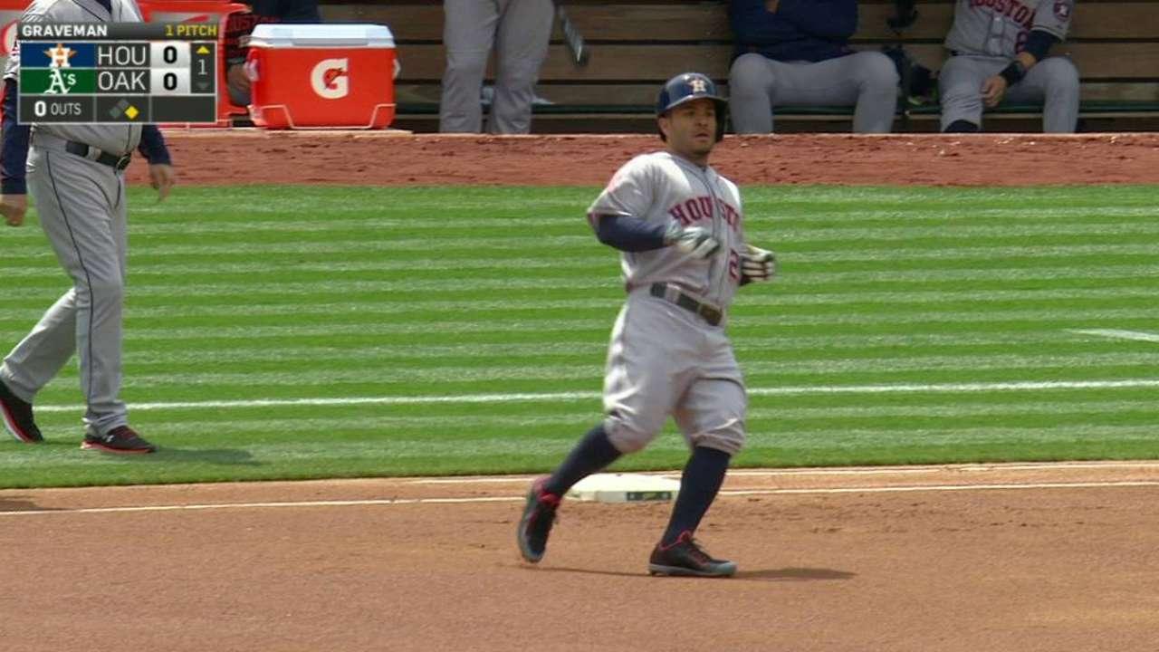 Altuve extends hitting streak