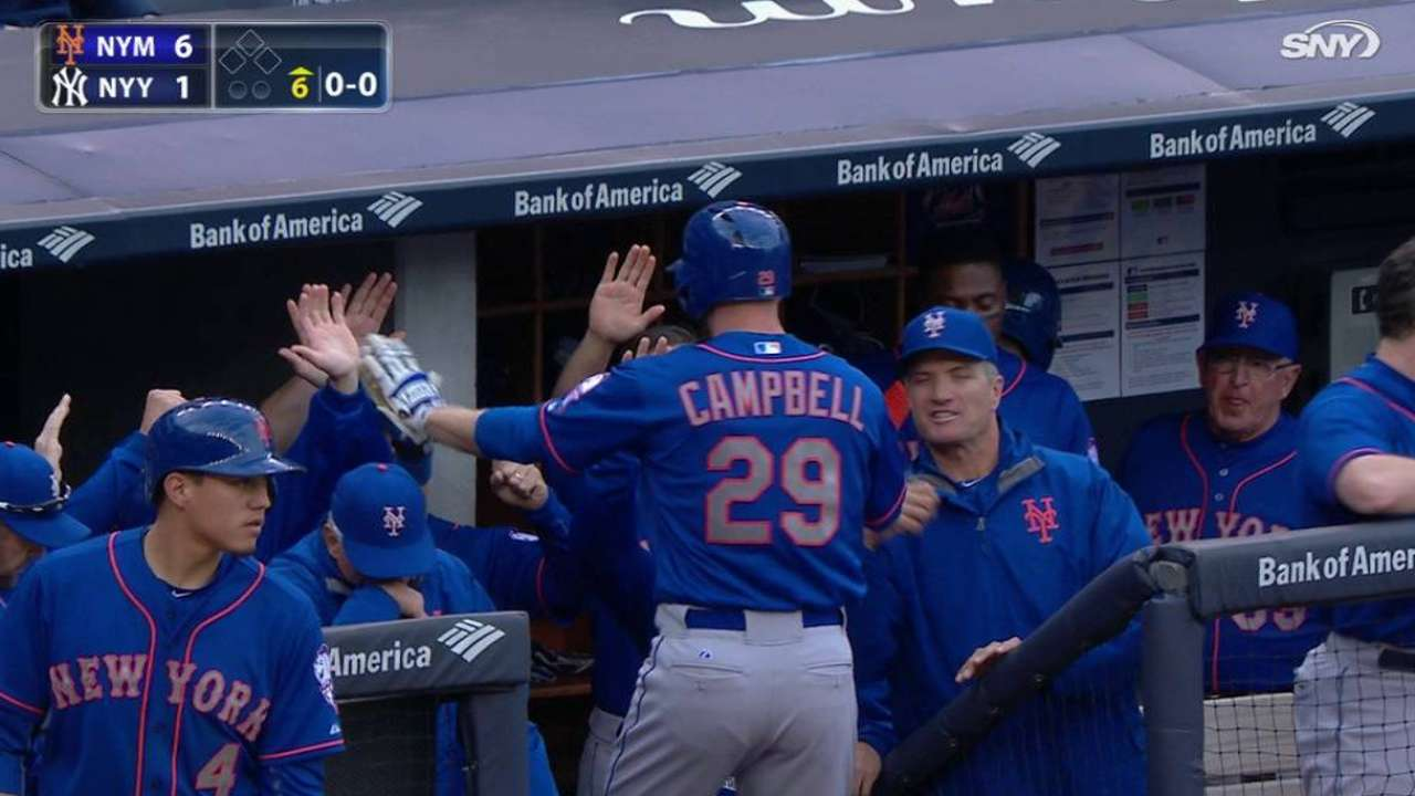 Campbell's solo homer