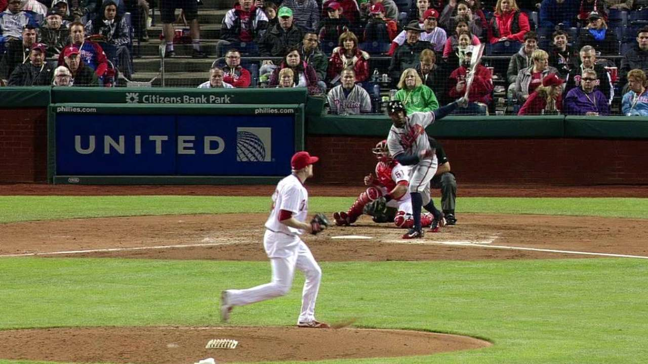 Young Jr.'s RBI double