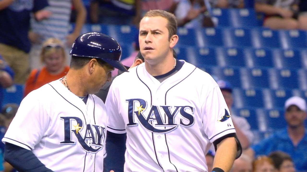 Longoria's four-hit game