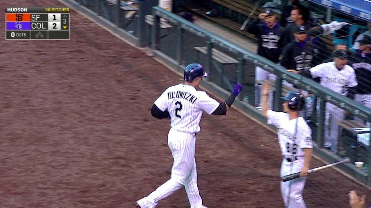 Rockies rally in ninth, but fall to Giants in 11