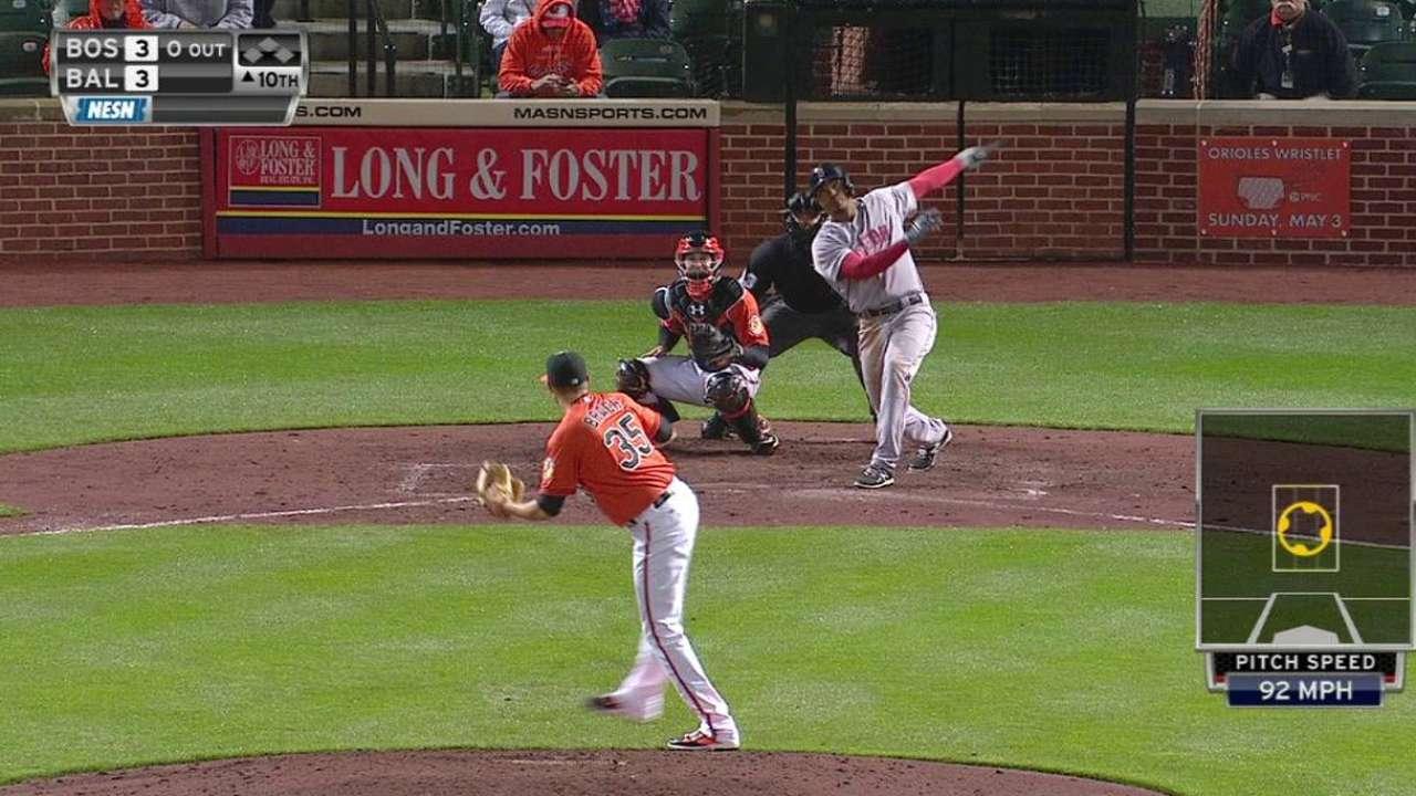 Wild finish spoils Barnes' chance at first MLB win