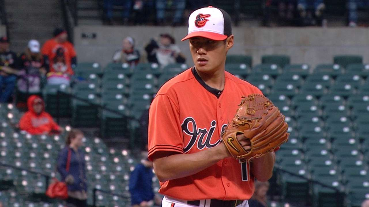 Chen's eight strong innings