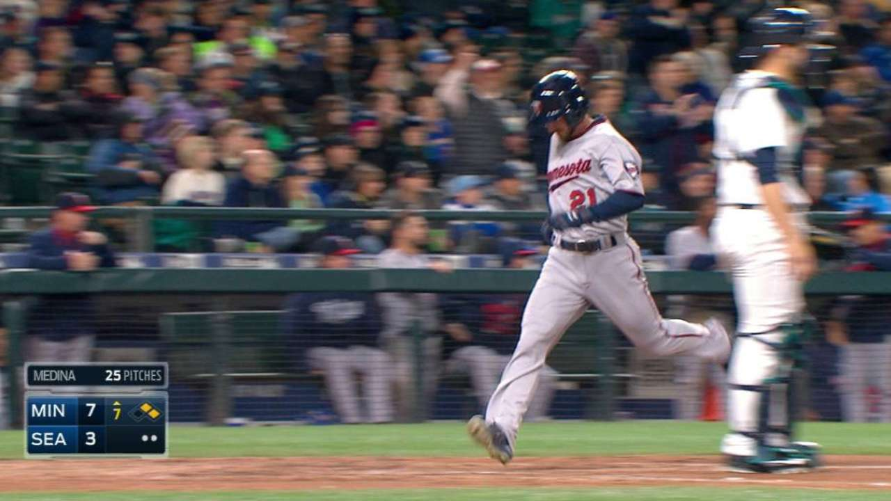 Dozier's RBI double