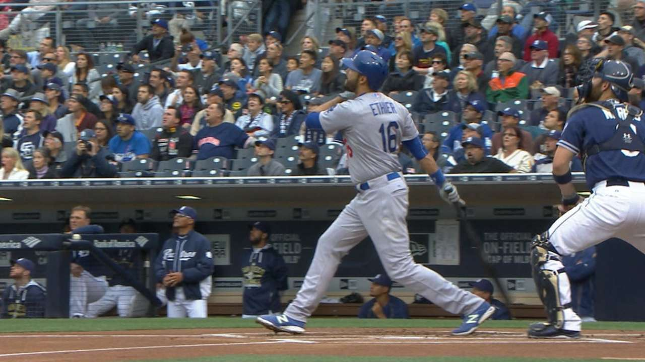 Dodgers engage in powerful show at Petco