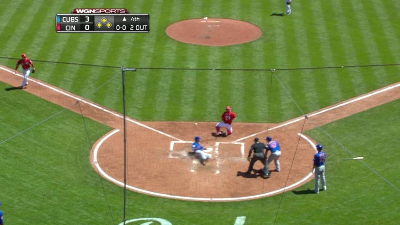 Russell's bases-clearing double