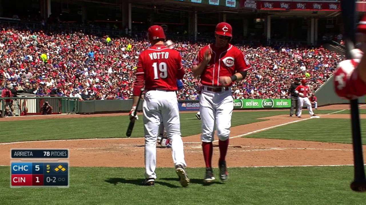 Reds struggling to capitalize on scoring chances